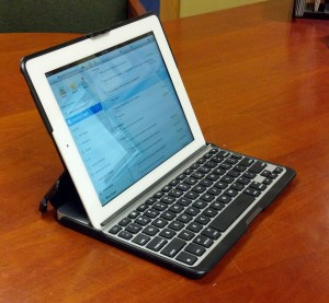 ZAGGfolio for iPad - Front Angle