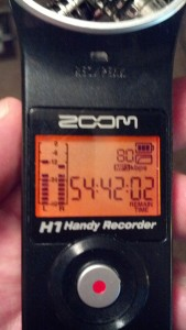 Review: The Zoom H1 Portable Digital Recorder
