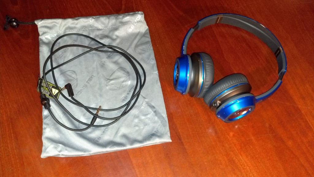 Monster NCredible NTune On-Ear Headphones and Case