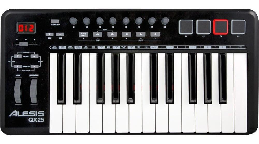 Alesis QX25 USB MIDI keyboard controller