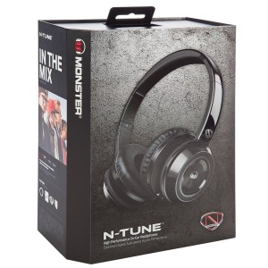 Monster NCredible NTune On-Ear Headphones box