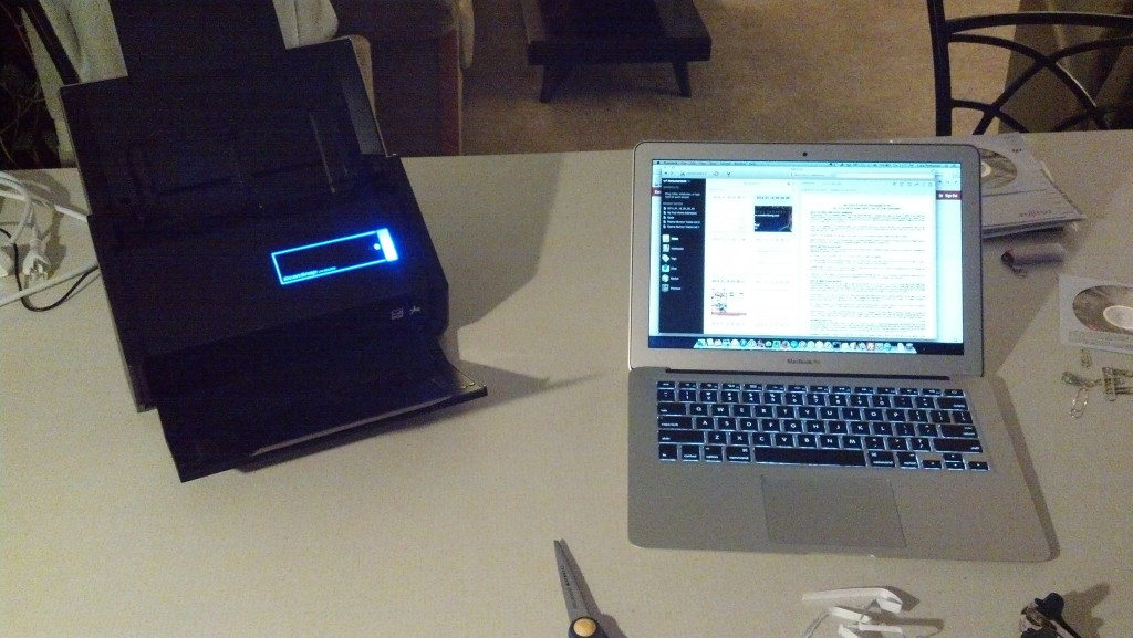 ScanSnap and Macbook 3