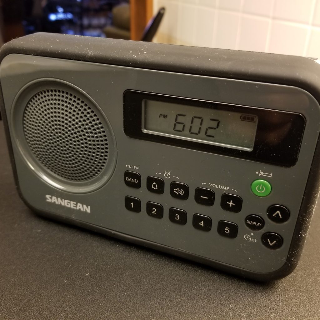 Sangean PR-D18BK Portable AM FM Radio