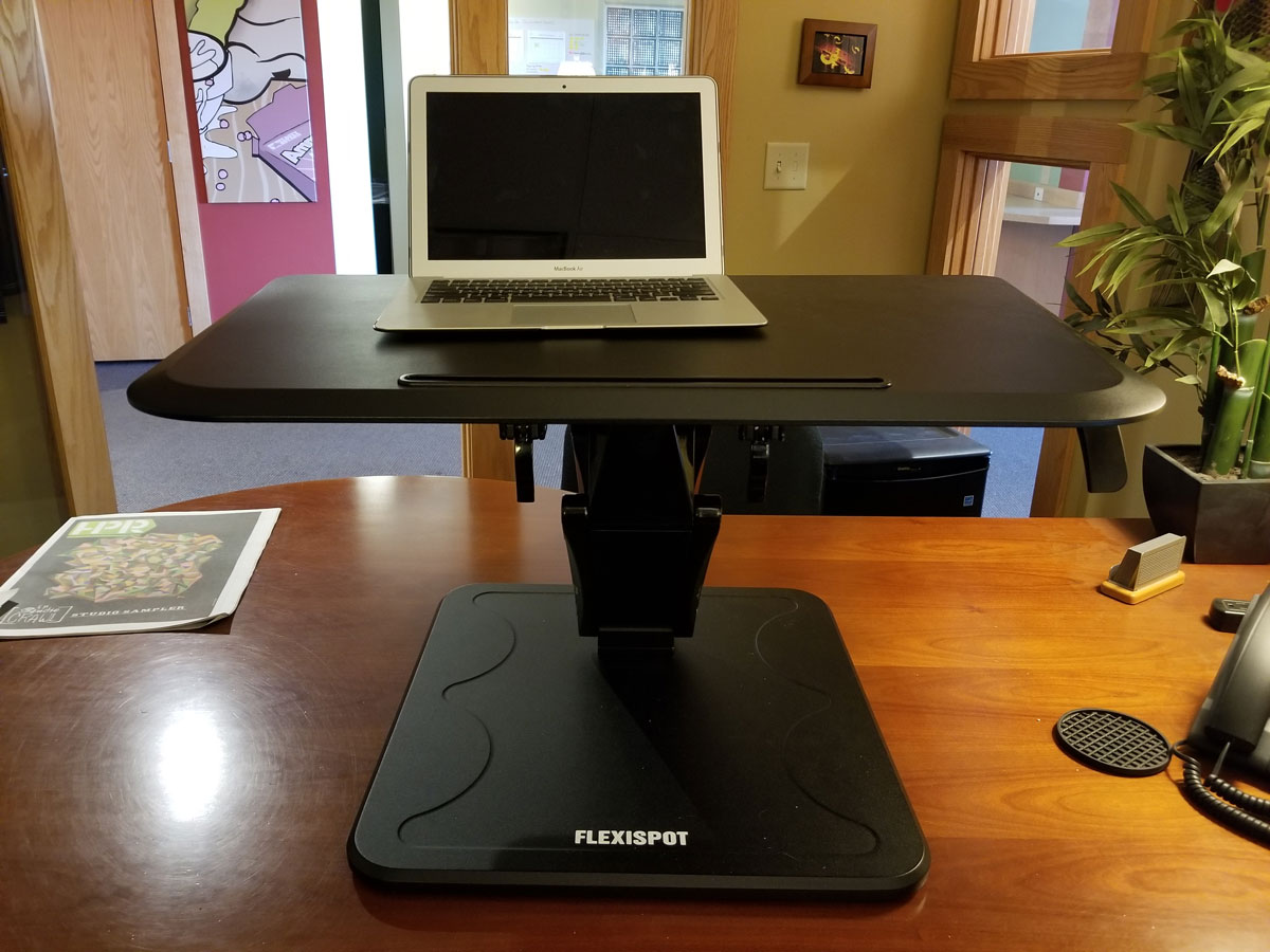 Flexispot-F3MB-Standing-Desk-Front-Up